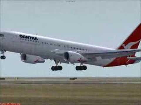 Level d 767 qantas