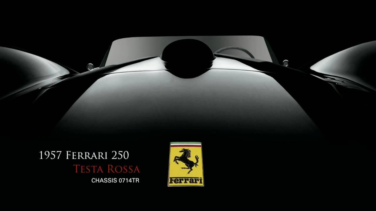 1957 Ferrari 250 Testa Rossa Chassis No 0714tr Youtube