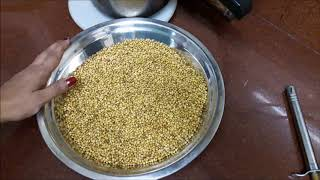 how to make coriander powder at home by jaya's recipes
