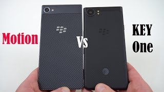 Blackberry Motion vs KEYOne: To KeyBoard Or Not To Keyboard?