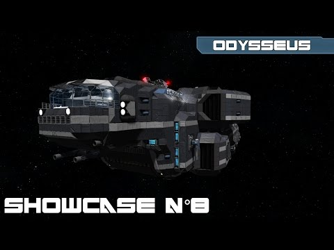 Space Engineers - Showcase n°8 : The Odysseus merchant ship