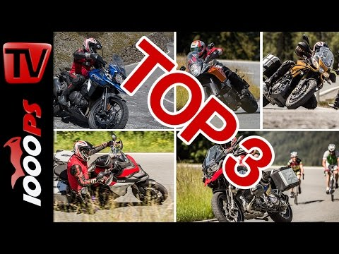 Top 3 - Reise Enduro Test 2016 in den Alpen   High-Bike Testcenter Paznaun Foto