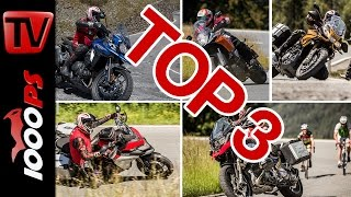 Top 3 - Reise Enduro Test 2016 in den Alpen | High-Bike Testcenter Paznaun(, 2016-07-21T12:16:31.000Z)