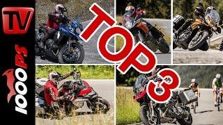 Top 3 - Reise Enduro Test 2016 in den Alpen | High-Bike Testcenter Paznaun(, 2016-07-21T12:16:31.000Z)