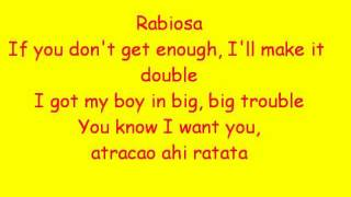 Rabiosa - Shakira Ft. Pitbull Lyrics
