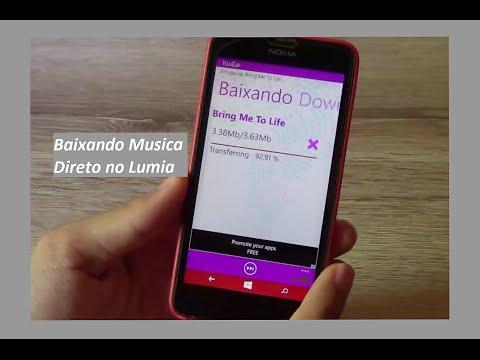 Como Baixar Musicas Gratuitamente no Windows Phone 8.1 e 10