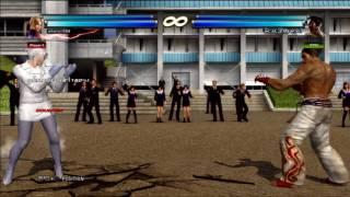 Tekken tag 2 Nina & Deviljin combo movie