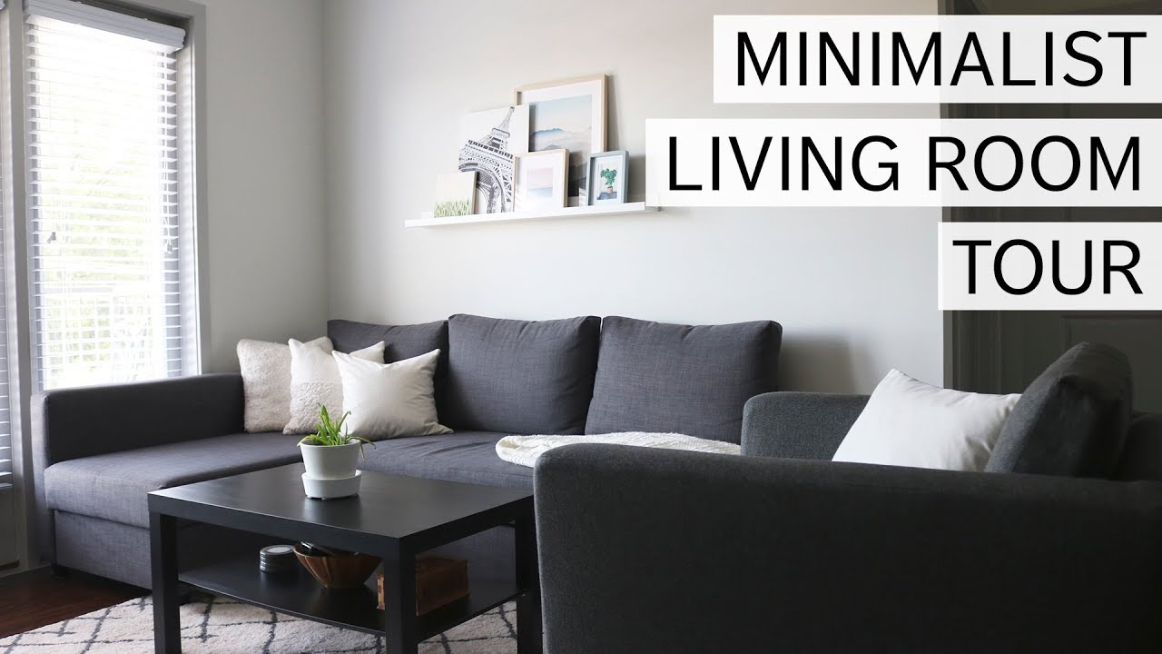 Minimalist Living Room Tour Minimal Design Sustainable Couch Youtube