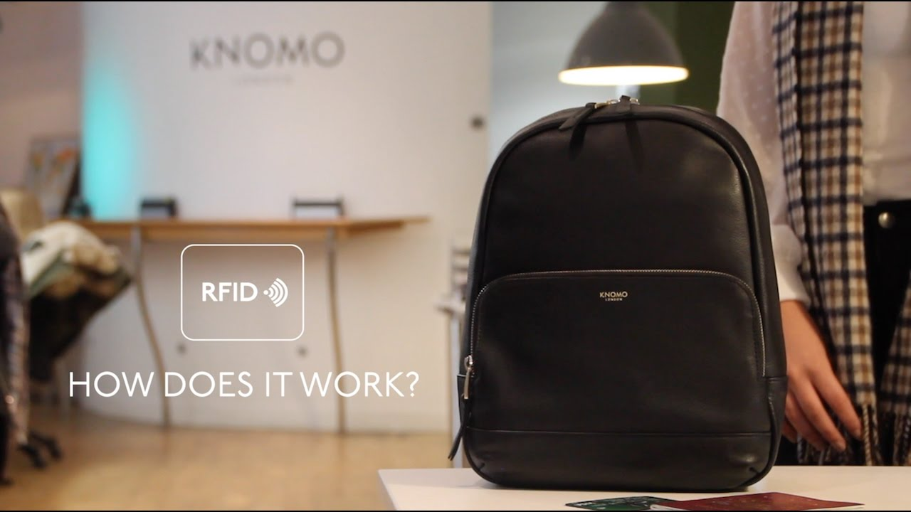 17be02306e4 Knomo Audley Laptoptas Zwart 14 inch