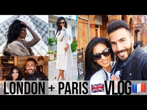 Paris & London Travel Diary | With my Husband | New Years Vlog 2016 #irenesarahtravels