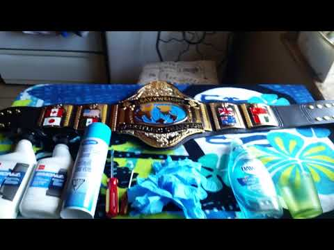 WBC: Replica Belt Cleaning Tutorial Part 1 What You Need