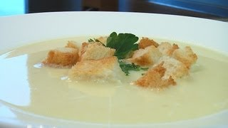 Суп-пюре из картофеля видео рецепт. Книга о вкусной и здоровой пище(Сайт проекта:http://www.videocooking.ru Приготовлено по рецепту из