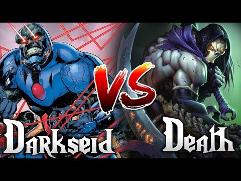 Darkseid Vs Death / who will win / DC Vs Darksiders  