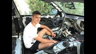 BMW E46 V8 Drift Project 3.Rész Végre baloldalt a kormány