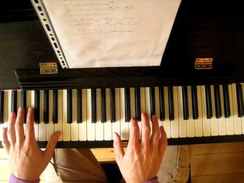 Somewhere Over The Rainbow - Eva Cassidy variation (piano)