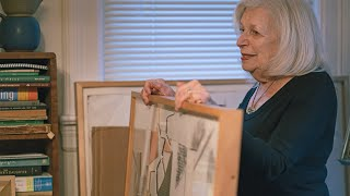 D-Day veteran's wife reflects on late husband's secret art