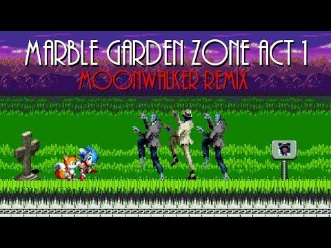 Marble Garden Zone Act 1 Moonwalker Thriller Remix Sonic The Hedgehog 3 Youtube