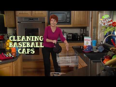 CLEANING BASEBALL CAPS - Queen Of Clean