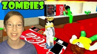 ESCAPE THE ZOMBIE MOVIE THEATER OBBY - Roblox Gameplay | CollinTV Gaming