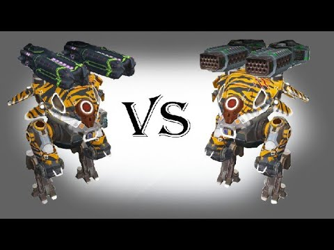 Carnage glory VS Carnage thunders Test#15  War Robots