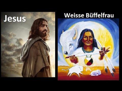 Indianer,Jesus,die weisse Büffelfrau, archtypisch weibliche und männliche Energie