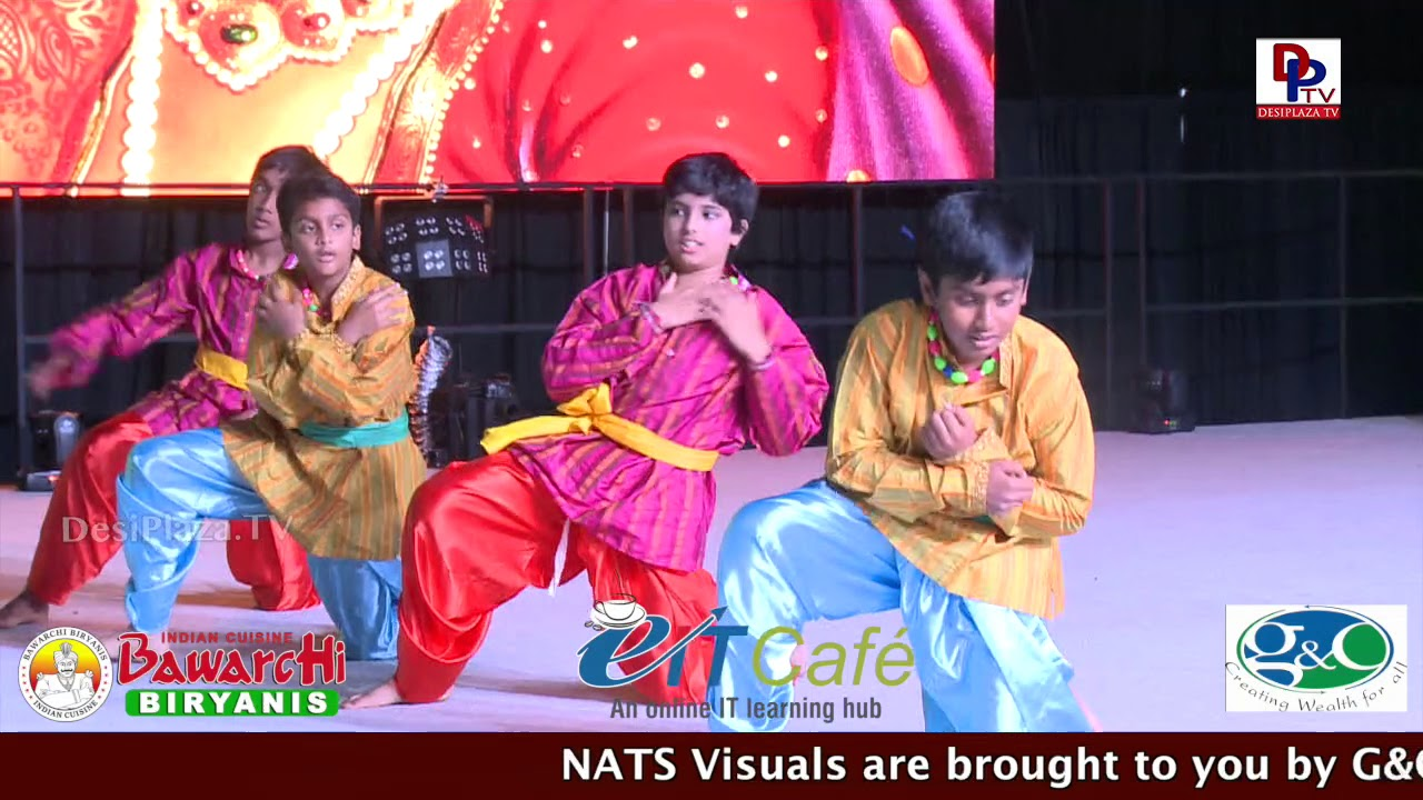 Mahatma Movie || Neelapoori Gajula O Neelaveni  Song performance @ NATS Conference - Chicago