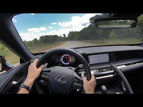 2019 Lexus LC 500 - POV Driving Impressions