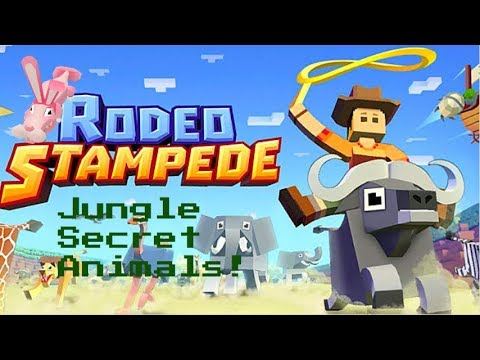 Rodeo Stampede How To Get Jungle Secret Animals Youtube