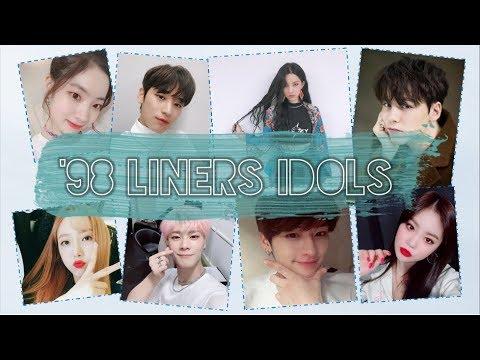 Kpop Idols Nacidos En 1998 Youtube