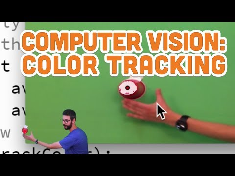 11.5: Computer Vision: Color Tracking - Processing Tutorial