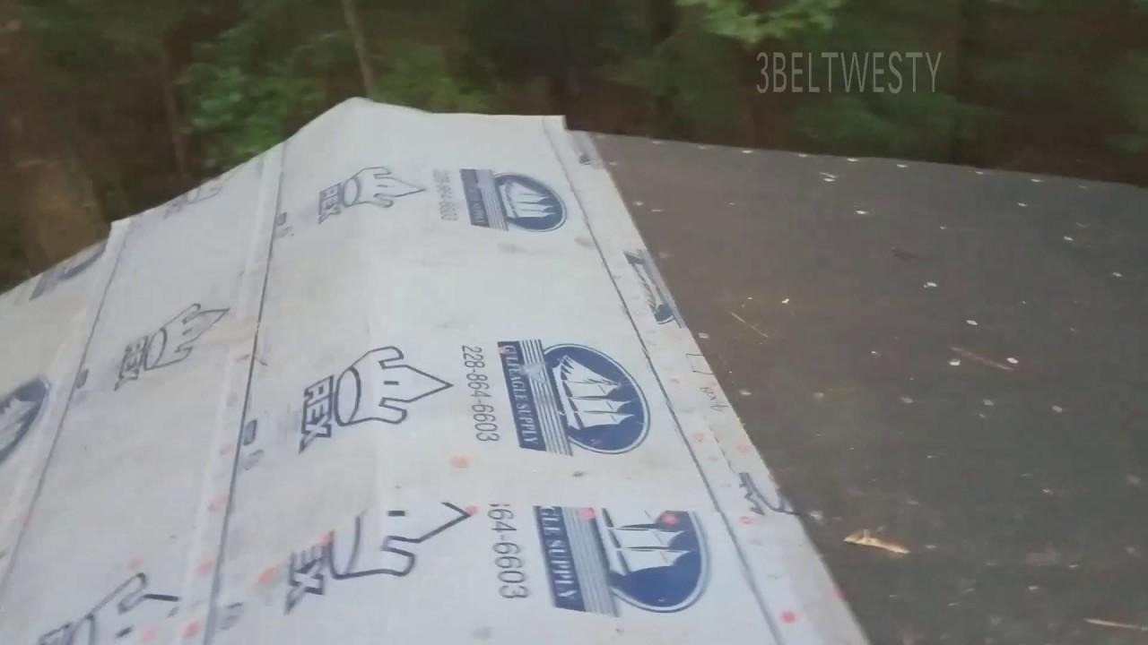 TITANIUM UDL 30 Versus REX SynFelt Roofing Underlayment