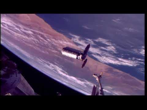 Cygnus Spacecraft Docks To International Space Station