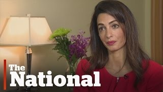 Amal Clooney on the fate of Mohamed Fahmy
