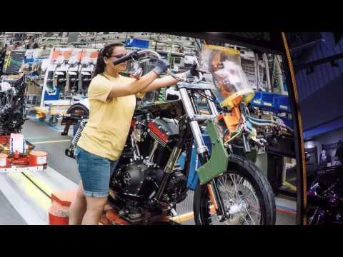 NPT21 ~ KC Harley-Davidson Factory Tour & home to IL