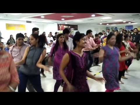 Accenture Bangalore Flash mob - YouTube