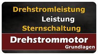 Let's Learn Drehstromleistung / Leistung bei symmetrischer Last - Sternschaltung