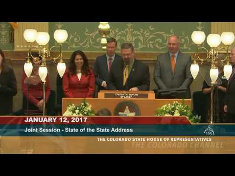 Colorado 2017 State of the State