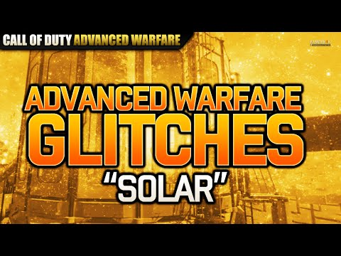 Call of Duty: Advanced Warfare - Solar Glitch Out of the Map! [AW Glitches]