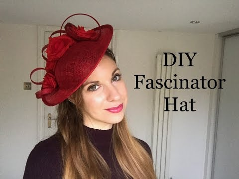 How to make a Fascinator Headpiece DIY Disc Hat tutorial