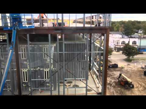 Tour of the old, empty Muskegon County Jail