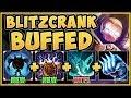 WTF RIOT!? OVERBUFFED BLITZ SHIELD BLOCKS ALL DAMAGE?? BLITZCRANK TOP GAMEPLAY! - League of Legends