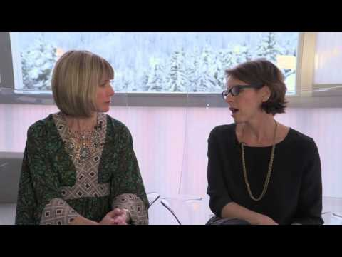 Davos 2016 Hub Culture Interview w Sara Sutton Fell of FlexJobs ...