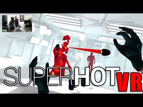 AJ&OJ Play Superhot VR - Angry Impressions