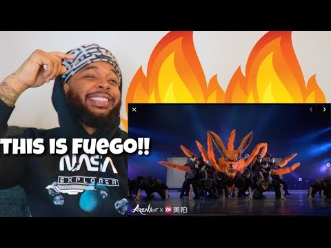 Naruto Dance Show by O-DOG (Front Row)   Reaction