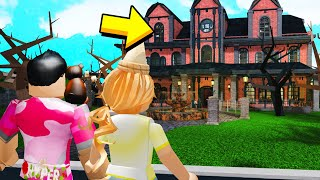 Sister And I Found A CREEPY MANSION.. What I Find In The ATTIC Will SCARE YOU! (Roblox)