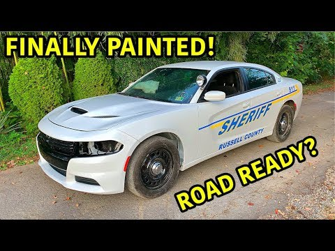 Rebuilding A Wrecked 2018 Dodge Charger Police Car Part 5