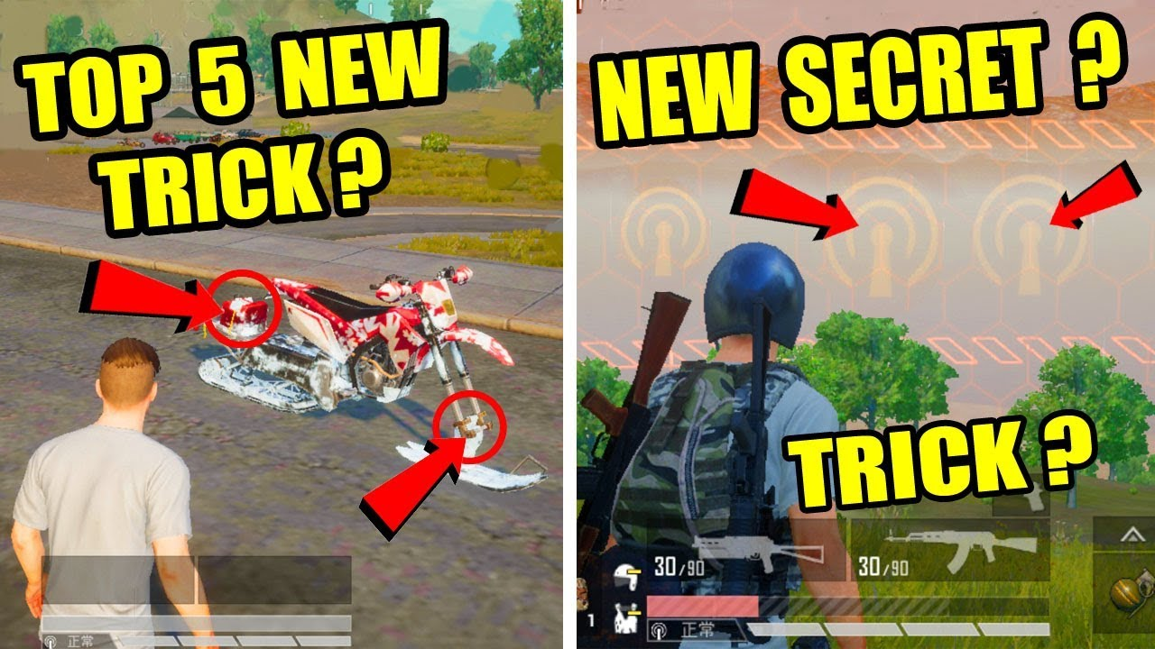 Pubg Mobile New Update Top 5 New Secret Trick ? Only 0.5% People Know About This Tricks