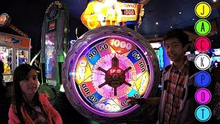 JACKPOT: Doc Wins The Jackpot On Treasure Quest Ticket Redemption Arcade Game!