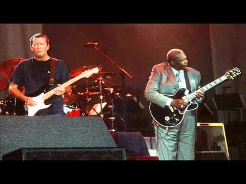 B.B. King With Eric Clapton - When My Heart Beats Like A Ham
