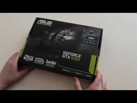 Asus PCI-Ex GeForce GTX 1050 Phoenix 2GB GDDR5 (128bit) (1354/7008) (DVI, HDMI, DisplayPort) (PH-GTX1050-2G)